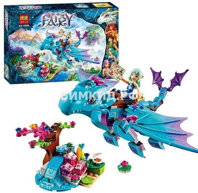 """Конструктор Fairy """"Приключения Дракона воды"""" 214 дет. Bela"""