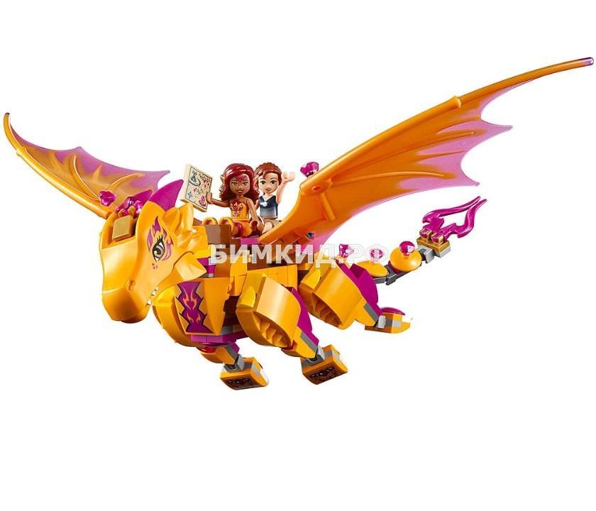 """Конструктор Fairy """"Лавовая пещера дракона огня"""" 446 дет. Bela"""