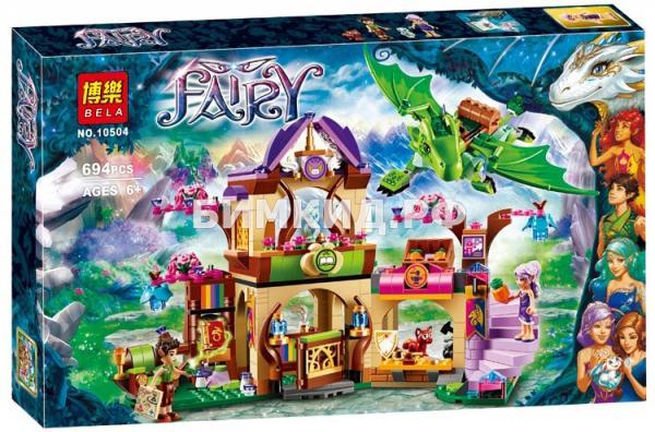 """Конструктор Fairy """"Секретный рынок"""" 694 дет. Bela"""