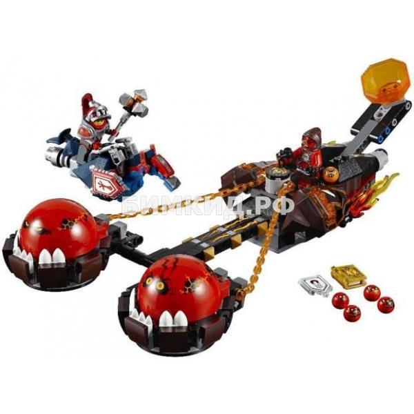 """Конструктор Nexo Knights (Нексо Найтс) """"Безумная колесница Укротителя"""" 334 дет. Bela"""