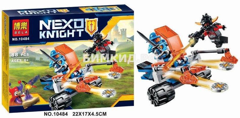 "Конструктор Nexo Knights (Нексо Найтс) ""Королевский бластер"" 88 дет. Bela"