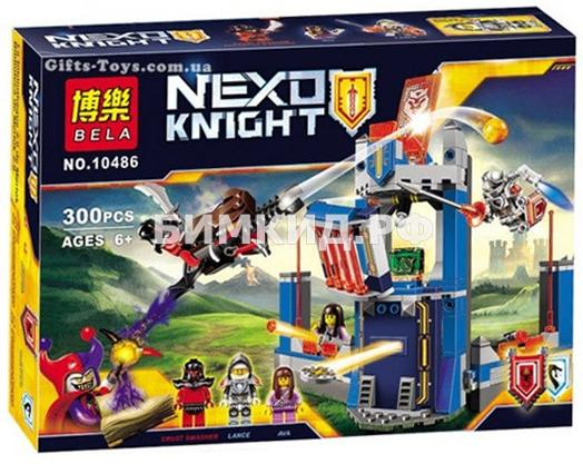 "Конструктор Nexo Knights (Нексо Найтс) ""Библиотека Мерлока"" 300 дет. Bela"