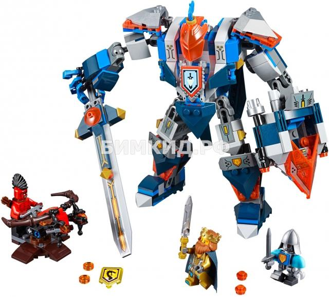 """Конструктор Nexo Knights (Нексо Найтс) """"Робот короля"""" 386 дет. Bela"""