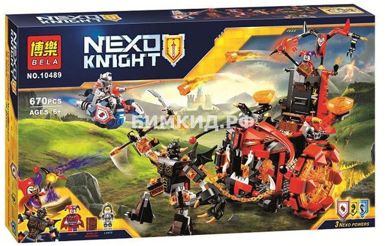 """Конструктор Nexo Knights (Нексо Найтс) """"Джестромобиль"""" 670 дет. Bela"""