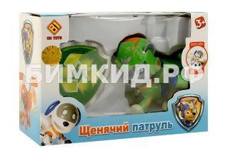 Летающий Рокки с рюкзаком-трансформером Щенячий Патруль (Paw Patrol)