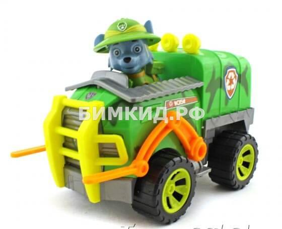 Набор Офис почты в Бухте приключений + Рокки с машинкой Щенячий патруль (Paw patrol)