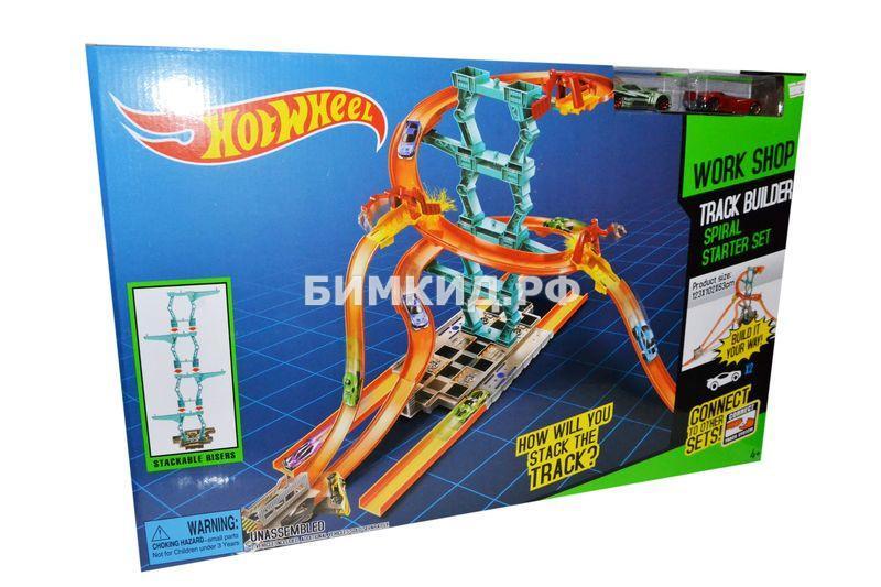 """Строитель треков """"Огненная спираль"""" Хот Вилс (Track Builder Hot wheels)"""