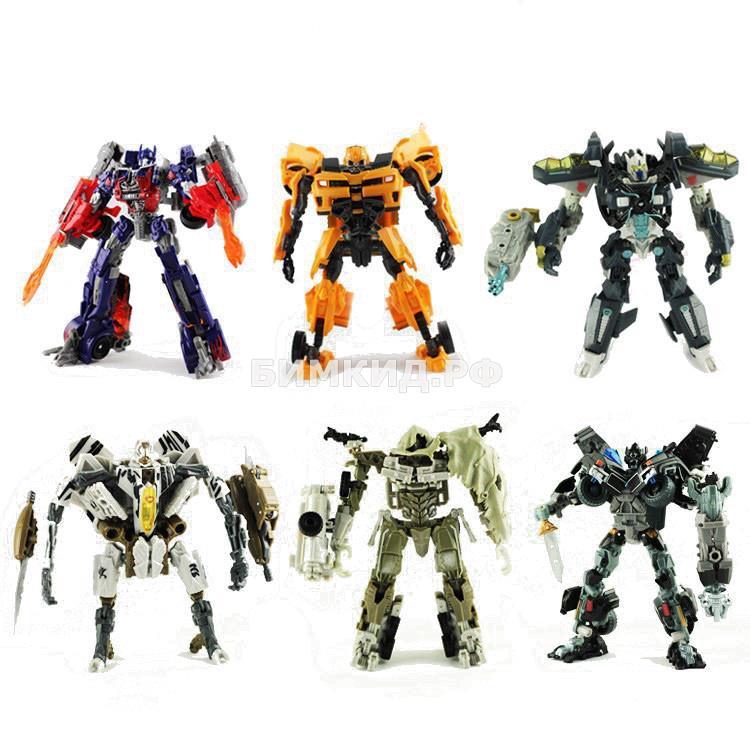 Набор 6 роботов-трансформеров Taikongzhans, 18 см