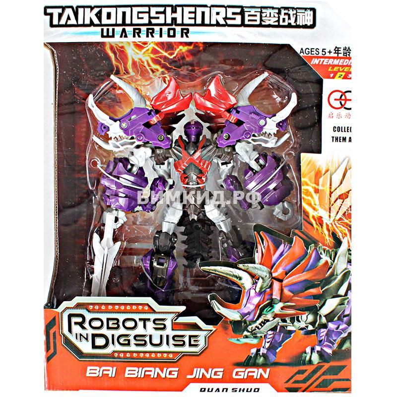 Слаг трицератопс робот-трансформер Taikongzhans Slag, 18 см