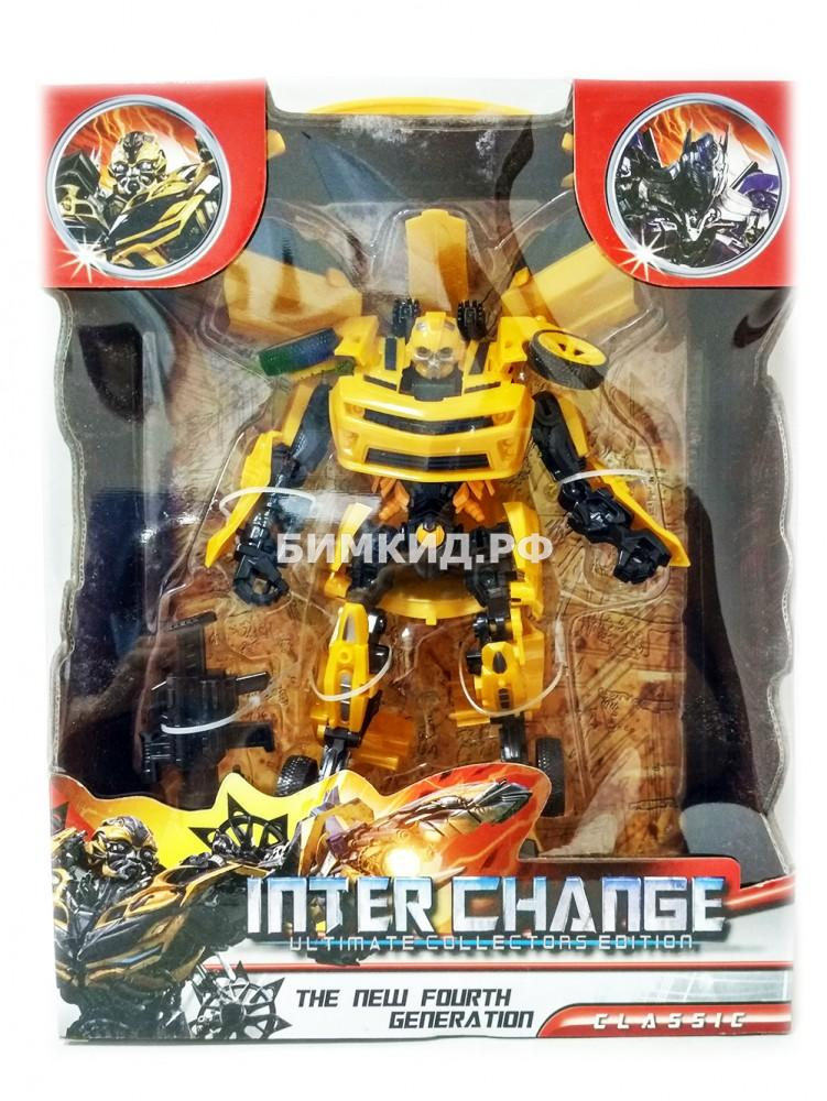 Бамблби 22 см робот-трансформер Inter Change Bumblebee