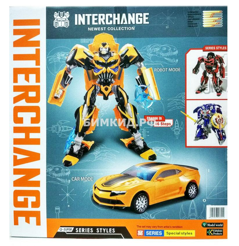 Бамблби 27 см робот-трансформер Interchange Bumblebee