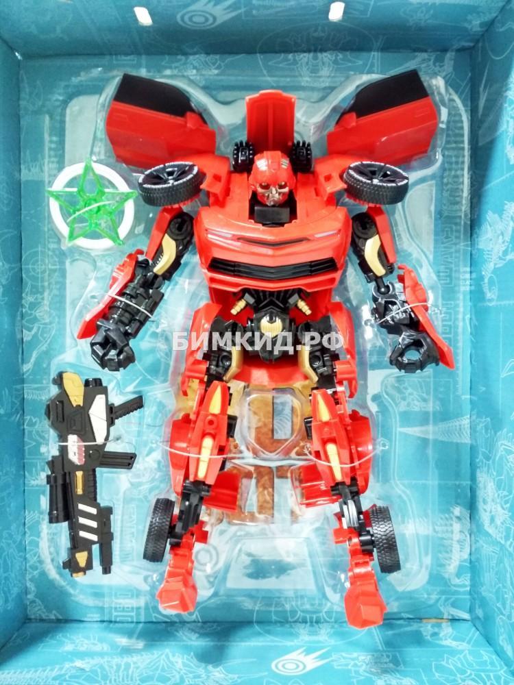 Бамблби 27 см Красный робот-трансформер Interchange Red Bumblebee