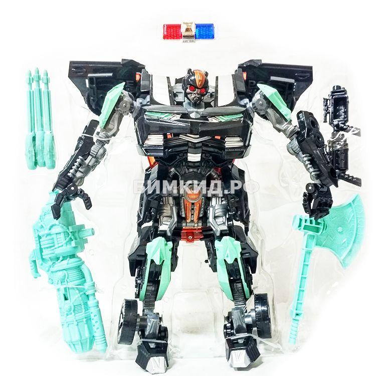 Робот-трансформер 24 см Полицейская машина