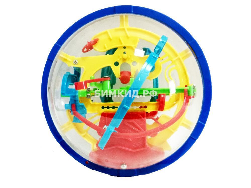 Шар лабиринт-головоломка 58 шагов, 12 см (Волшебный шар, Перплексус)