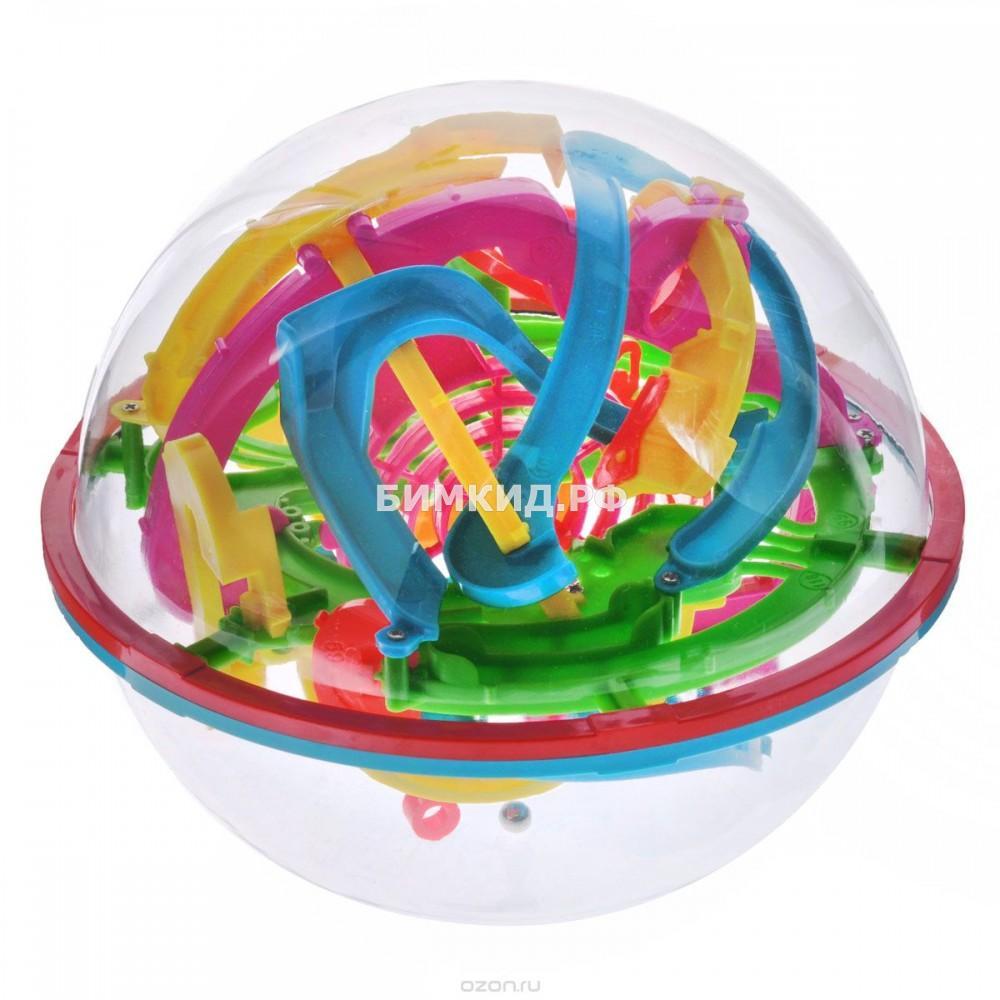 138 шагов, Шар лабиринт-головоломка, 18 см (Волшебный шар, Перплексус)