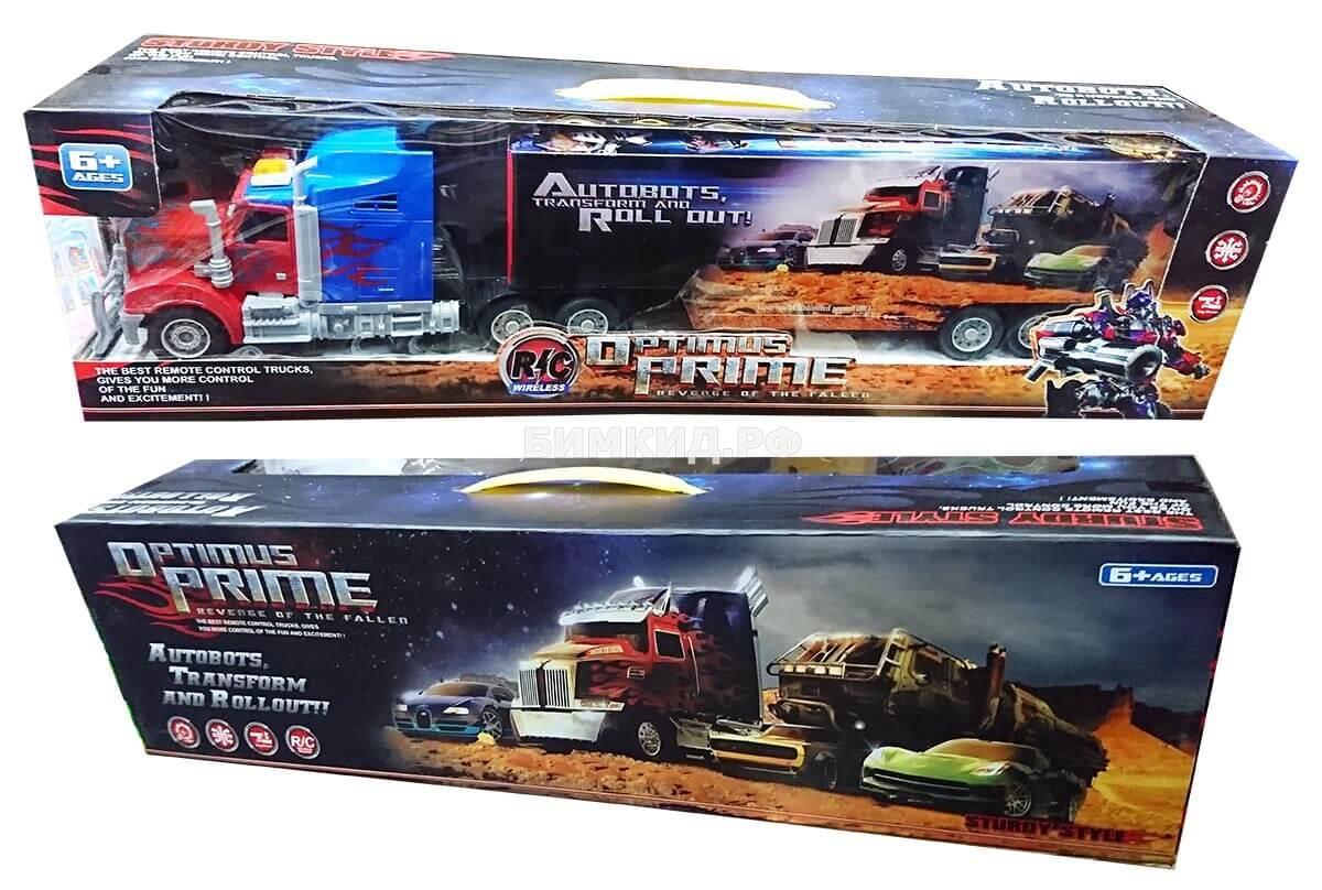 Грузовик Оптимус Прайм на радиоуправлении Трансформеры (Transformers Optimus)