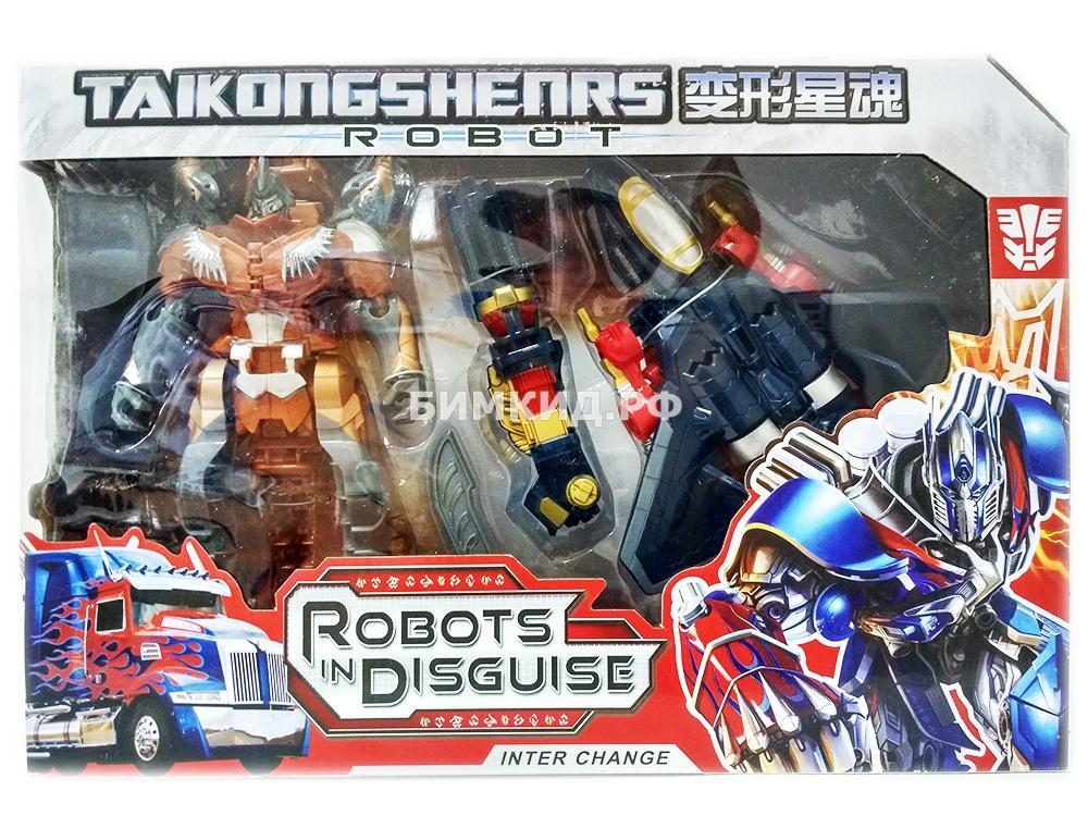 Набор Трансформеры Скандалист и динобот Гримлок 18 см (Transformers)