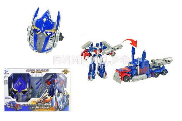 Трансформер Оптимус прайм 18 см + Маска Оптимуса Прайма Transmutation (Optimus Prime)