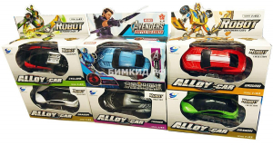 Набор 6 роботов-трансформеров Heroes Avengers