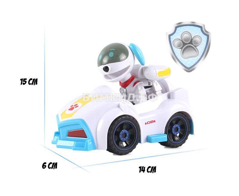 Робопес с машинкой и рюкзаком-трансформером Щенячий патруль (второе поколение)