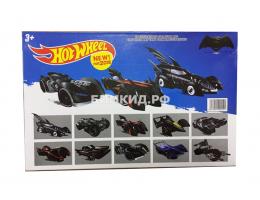 Набор 10 машинок Хот Вил Бэтман (Batman Hot Wheel)