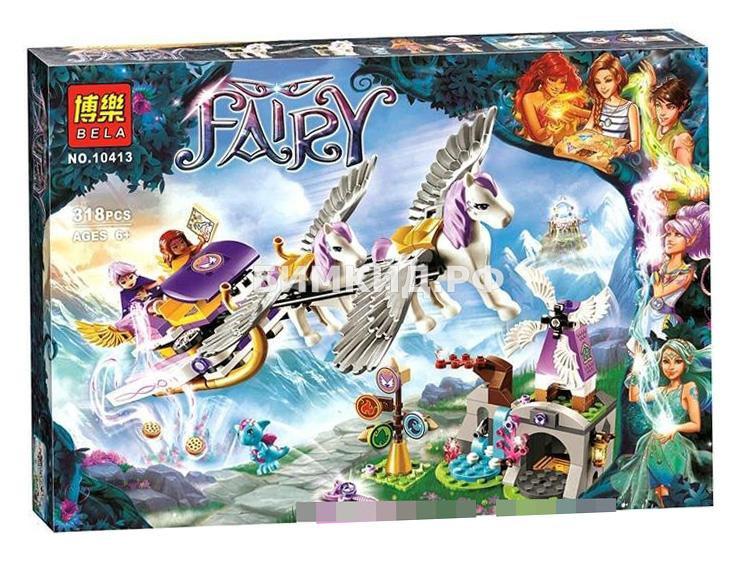 """Конструктор Fairy """"Летающие сани Эйры"""" 318 дет. Bela"""