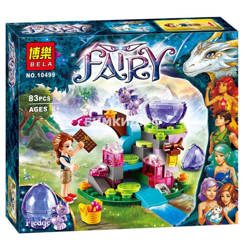"""Конструктор Fairy """"Эмили Джонс и дракончик ветра"""" 175 дет. Bela"""
