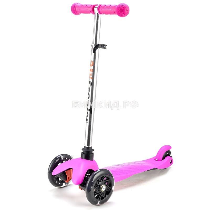Самокат Scooter Mini со светящимися колесами