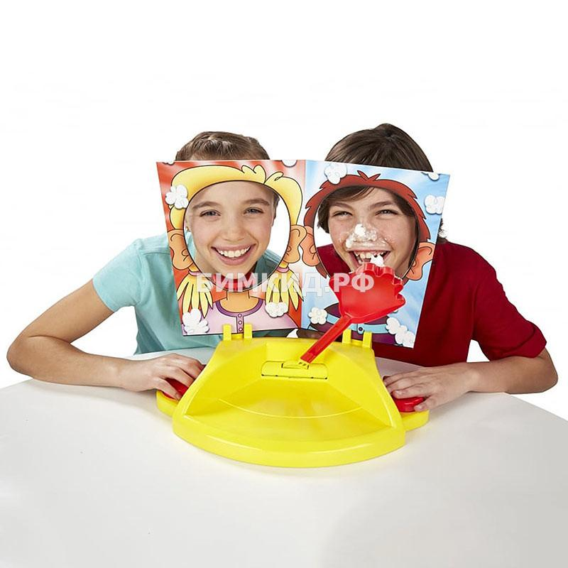 Игра Pie Face Showdown для 2 игроков (Пирог в лицо)