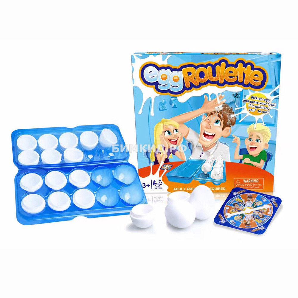 Игра Яичная рулетка (Egg roulette)