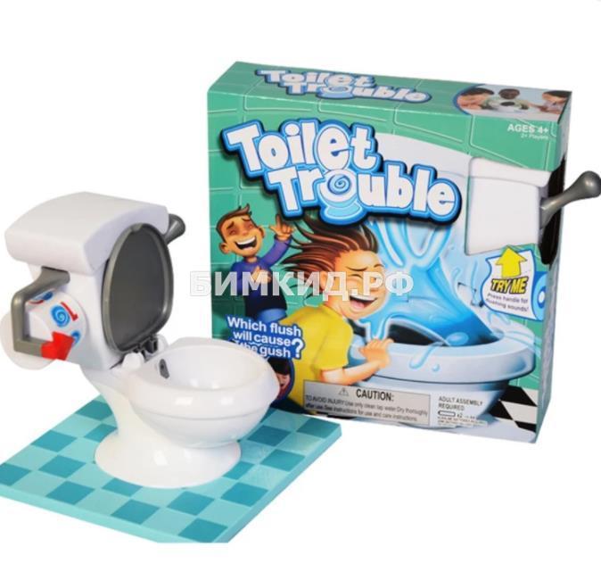 Игра Туалетные неприятности (Toilet trouble)