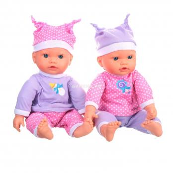 Пупсы : близняшки (30 функций), 40 см (Мой Малыш)