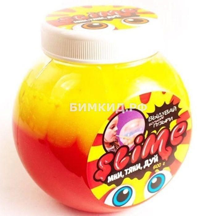 Лизун Slime «Mega Mix», желтый + клубничный