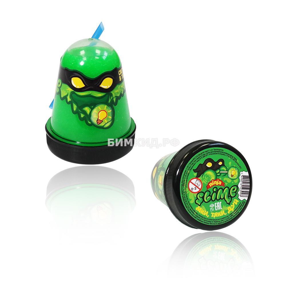 "Slime ""Ninja"" Затерянный мир зеленый"