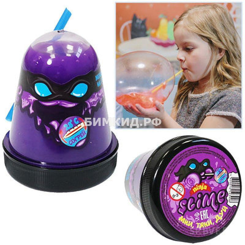 """Slime """"Ninja"""" Затерянный мир фиолетовый"""